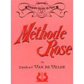 Méthode Rose 1ère année (version traditionnelle) ERNEST VAN DE VELDE