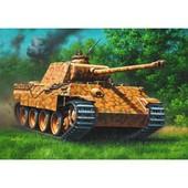 Panther Ausf. D/Ausf. A - Dim. 24.3 Cm X 3.6 Cm - �chelle 1:72