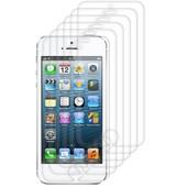 6x Film De Protection Pour �cran Apple Iphone 5 / 5s / 5c Transparent. Qualit� Sup�rieure Sign�e Kwmobile