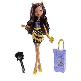 Monster High Poup�e Clawdeen Wolf Scaris City Of Frights 30 Cm