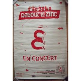 Debout sur le zinc affiche de concert