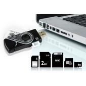 Lecteur USB Universel 14 En 1 Pour Carte SIM Et SD Transfert Rapide Donn�e