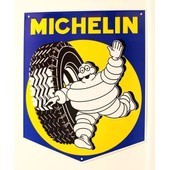Plaque Michelin En Metal
