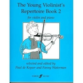 the young violinist's repertoire book 2 for violin and piano