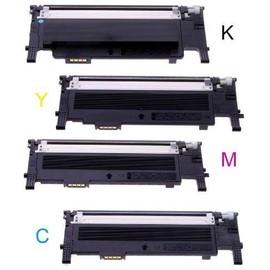 4 Cartouches Toner Compatible Pour Samsung Clt-406s Platinum Serie Clp 360 , Clp360 N , Clp-360nd , Clp 365 , Clp 365 W , Clx 3300 , Clx3300 , Clx 3305 , Clx3305 Fn , Clx-3305fw , Clx 3305w