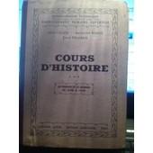 Cours D'histoire Tome 3 La France Et Le Monde De 1848 � 1920 de L�on Cahen