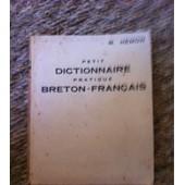 Geriadurig-Dourn Brezonek-Gallek -Petit Dictionnaire Pratique Breton-Fran�ais de HEMON, R.