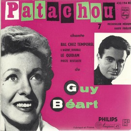 7 chante guy béart : bal chez temporel (Guy Béart - A. hardellet) - l'agent double (G. béart) / le quidam (G. béart) - poste restante (G. béart)