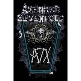 Avenged Sevenfold Poster - Hail To The King, Chain Coffin (91x61 cm)