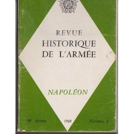 Revue Historique De L'arm�e N� 3 : Napol�on