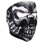 Cagoule Tour De Cou �charpe Foulard Masque Mask T�te Mort Squelette Os Style Warfare Airsoft Motarde Paintball Ghost Ski Moto