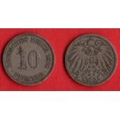 10 Pfennig Deutsches Reich 1898 A Allemagne