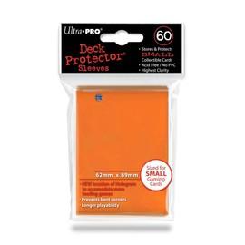 60 Pochettes Orange Pour Cartes Format Yu-Gi-Oh! - Jap