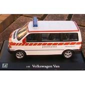 Vw Volkswagen Van Polizei Police Suisse Oliex 1/43 Vitre Swiss Schweiz