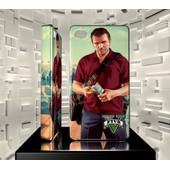 Coque Iphone 4 Iph04 009 026 007 Grand Theft Auto Gta 5 Jeu Video Game Hard Case