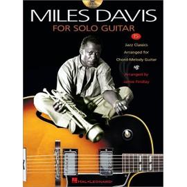 Miles Davis for Solo Guitar + CD