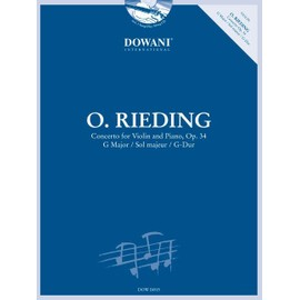 Rieding : Concerto for Violin and Piano, Op. 34 + CD