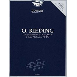 Rieding : Concerto op. 24 en sol majeur + CD