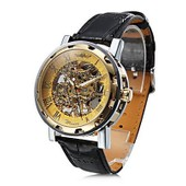 Montre Squelette Mecanique La Dor�e Skeleton Watch