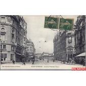 Carte Postale 42 - St Etienne - Avenue Felix Faure