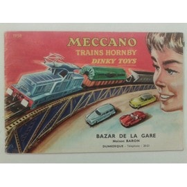 Catalogue Jouet 1958 Meccano Hornby Dinky Toys Trains Voitures