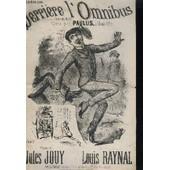 Derriere L'omnibus - Chanson Polka. de Raynal Louis / Jouy Jules