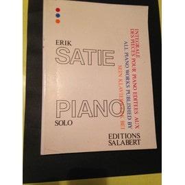 SATIE ERIK - INTEGRALE DES OEUVRES POUR PIANO Piano - instrument à clavier - Piano