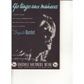 partiton italienne avec Brigitte Bardot