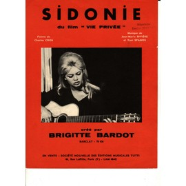 Sidonie (Brigitte Bardot)