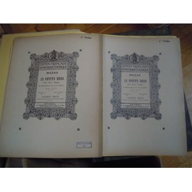 12 petits duos pour 2 violons  - Op 38 volume II  C. F. Mazas