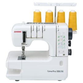 Machine � Points De Recouvrement Janome 1000cpx - Garantie 5 Ans