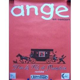 """ANGE - Affiche tournée """"Par Les Fils de Mandrin revisité"""""""