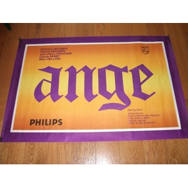 """ANGE - Affiche tournée """"Guet-Apens"""""""