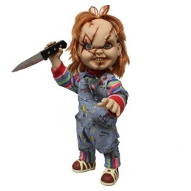 Mezco Figurine Mega Scale Chucky Damaged - 38 Cm