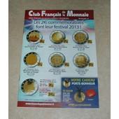 Catalogue Club Fran�ais De La Monnaie Mai 2013 N� 166