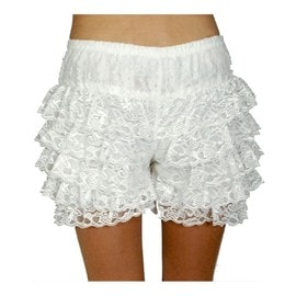 Panty Dentelle Blanche Taille : M