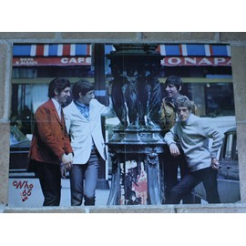 poster affiche magazine best the who 1965 57x40