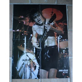poster affiche magazine best angus young acdc ac/dc 57x40