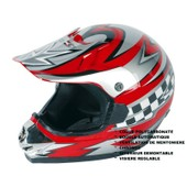 Rokx - Casque Cross Adulte Ca Rouge Xxl