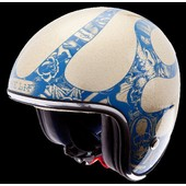 Edhardy - Casque Jet Ed Hardy Flamme Or Metal Xxl