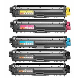Merotoner� - 5 X Toner Compatible Pour Brother Tn-241 , Tn-245 Brother Dcp-9020 Cdw , Hl-3140 Cw , Hl-3150 Cdw , Hl-3170 Cdw