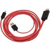 1080p Mhl Micro Usb To Hdmi Hdtv Adapter Cable For Samsung Galaxy S3 I9300 Ac74-Pm1