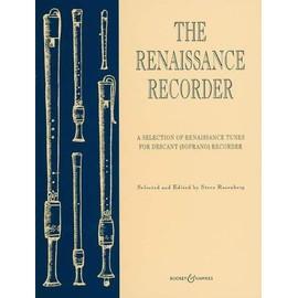 Renaissance Recorder flûte à bec soprano, piano