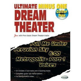 DREAM THEATER ULTIMATE MINUS ONE TAB + CD