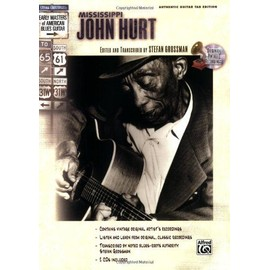 Mississippi hurt masters coun. blues tab cd