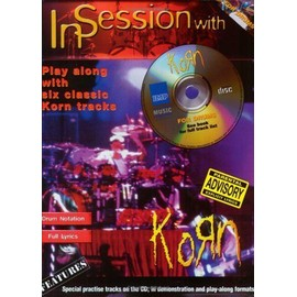 KORN IN SESSION WITH CD DRUMS
