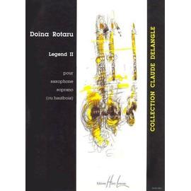 Legend II Saxophone Soprano ou Hautbois solo
