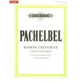 Kanon und Gigue 3 Violinen und Basso continuo