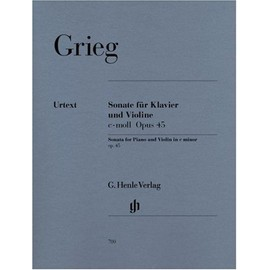 Sonate für Klavier und Violine c-moll Opus 45 Violine und Klavier