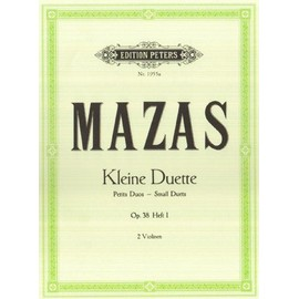 Kleine Duette Opus 38 2 Violinen Heft 1 : Nr. 1-6